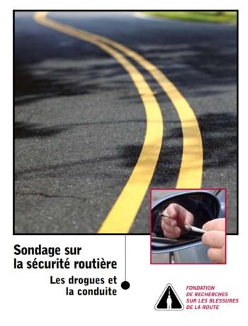 Sondage sur la sécurité routière 2005 : Les drogues et la conduite