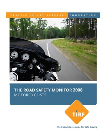 Road Safety Monitor 2008: Motorcyclists