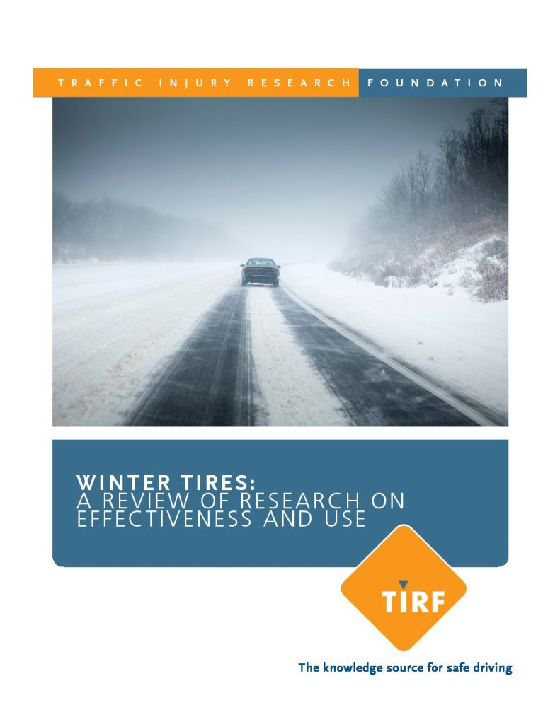 Archived: Make winter tires part of your winter driving preparation