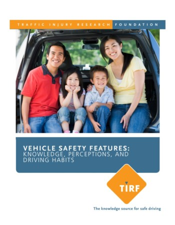 Vehicle Safety Features: Knowledge, Perceptions, and Driving Habits