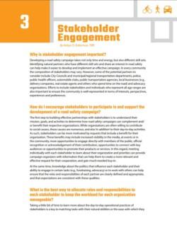 TIRF Toolkit Factsheets – Stakeholder Engagement