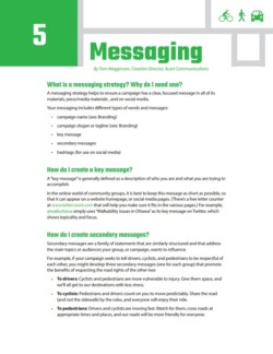 TIRF Toolkit Factsheets – Messaging