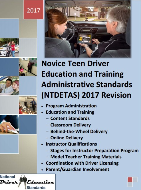 Novice Teen Driver Education and Training Administrative Standards (NTDETAS) 2017