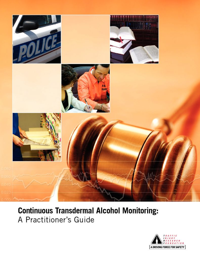 Continuous Transdermal Alcohol Monitoring: A Practitioner's Guide