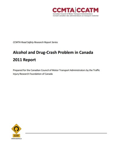 The Alcohol-Crash Problem in Canada: 2011