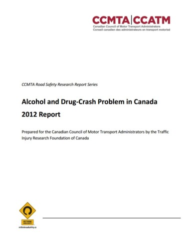 The AlcoholCrash Problem In Canada  Traffic Injury Research