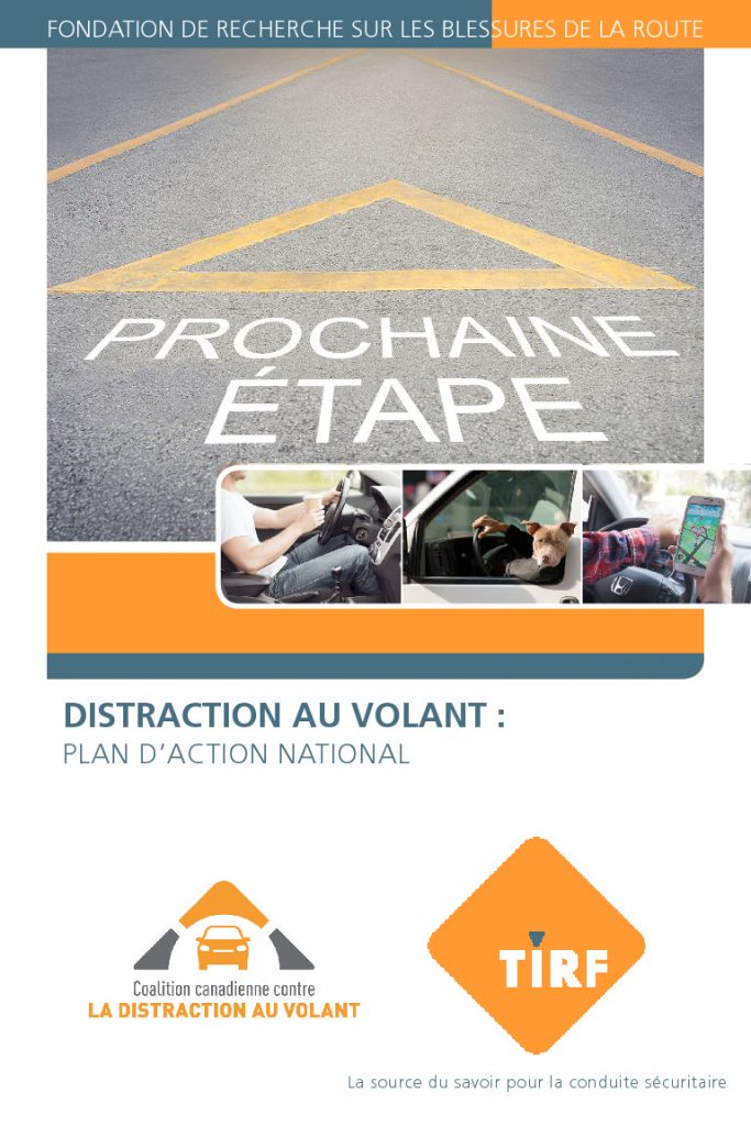 Distraction au Volant: Plan D 'Action National