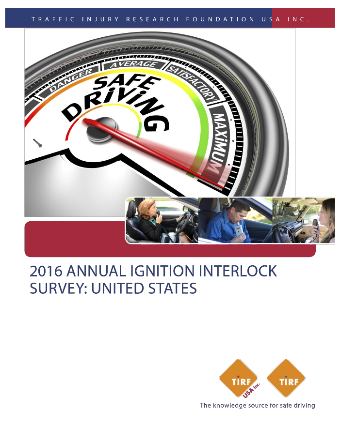 2015-2016 TIRF USA Annual interlock survey final report