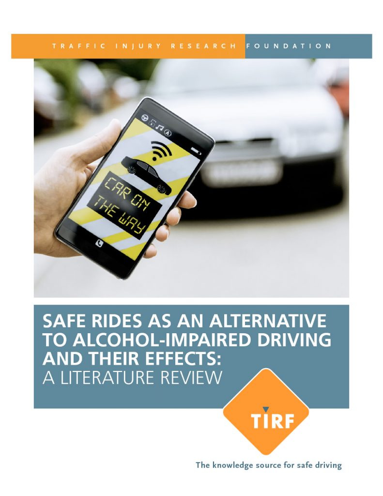 Safe Ride Programs: Alternatives to Impaired Driving