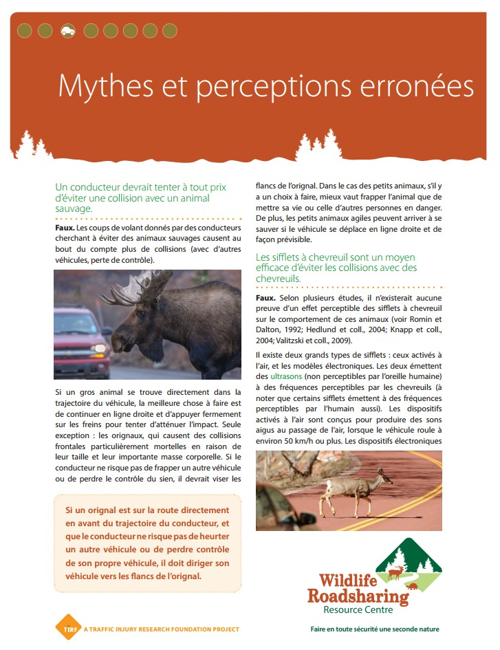 Mythes et perceptions erronées