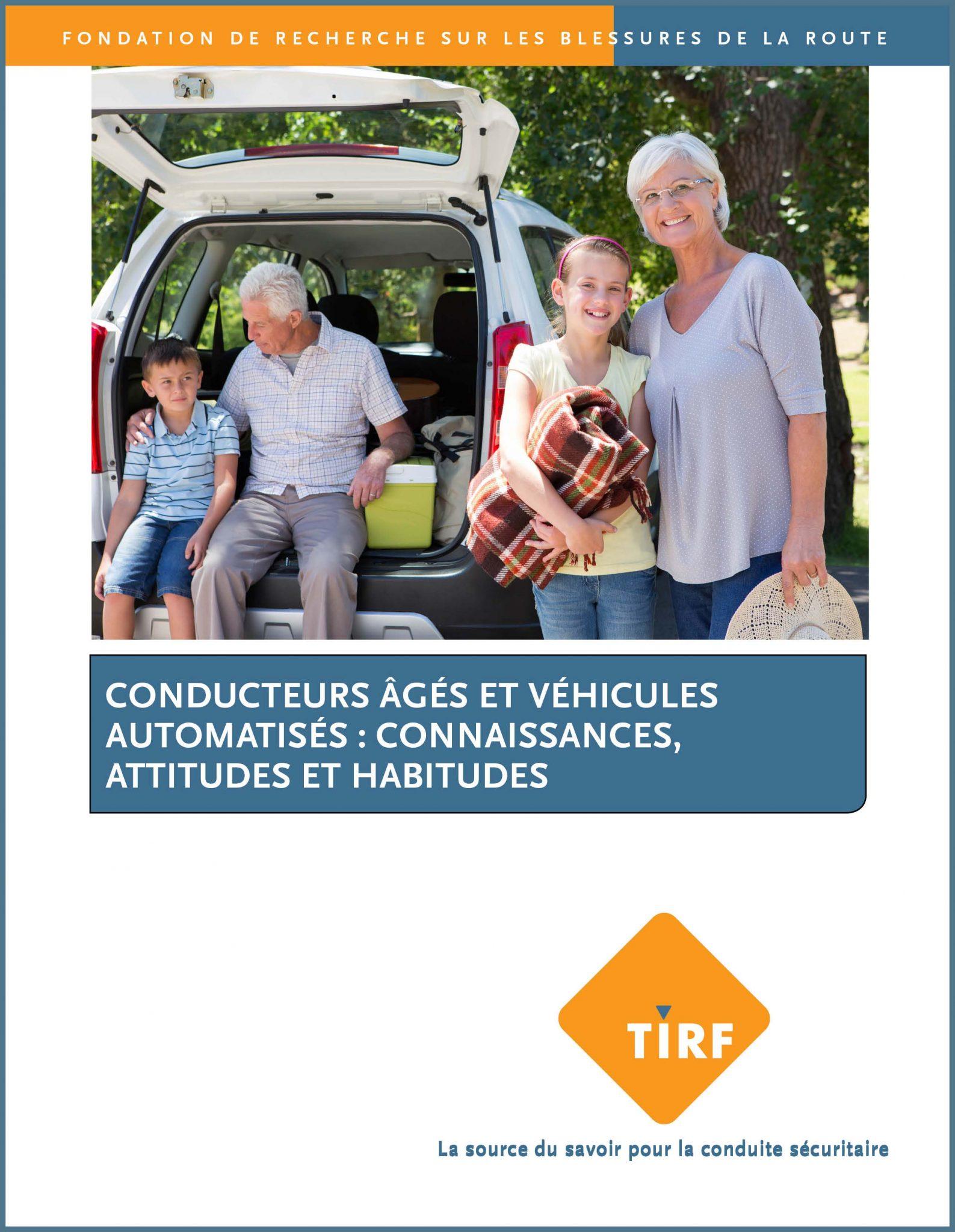 Conducteurs âgés et véhicules automatisés : connaissances, attitudes et habitudes
