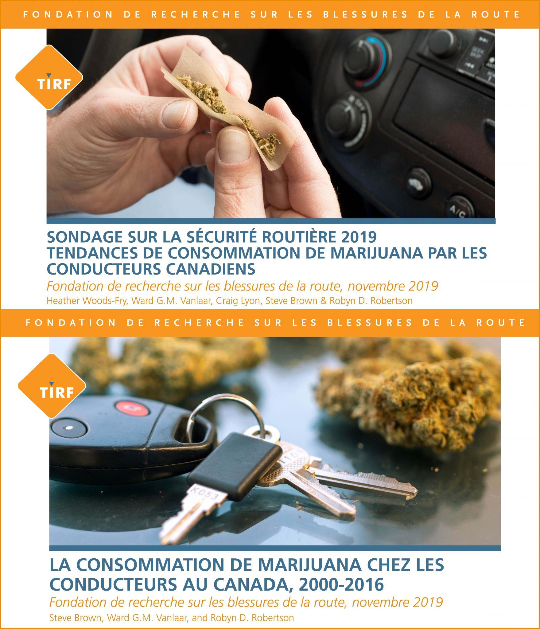 L'augmentation de la consommation de marijuana par les conducteurs et une prévalence croissante chez les conducteurs dans les collisions mortelles suscitent des inquiétudes
