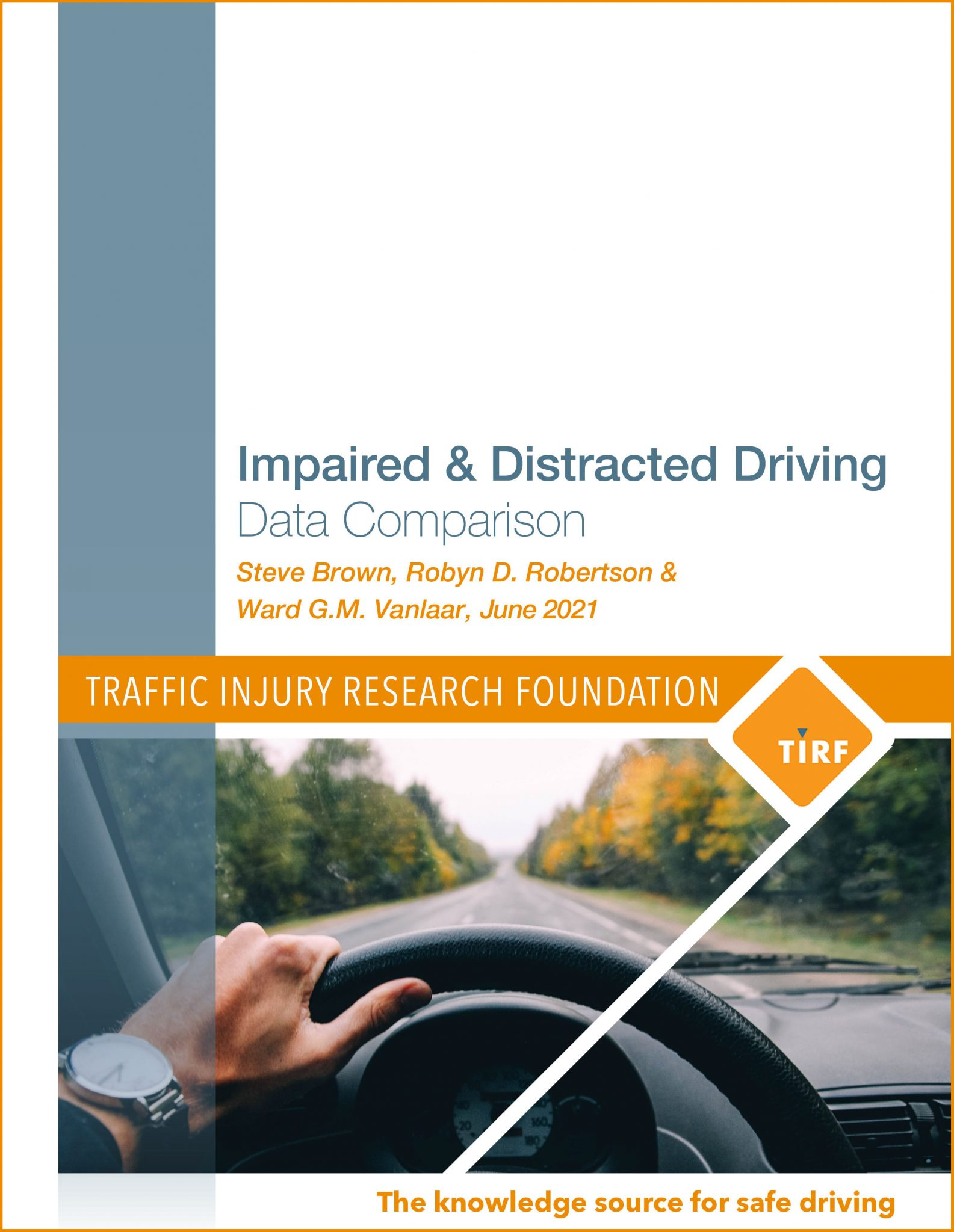Impaired & Distracted Driving: Data Comparison
